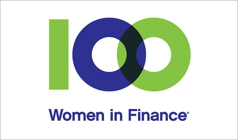 100 Women in Finance Logos