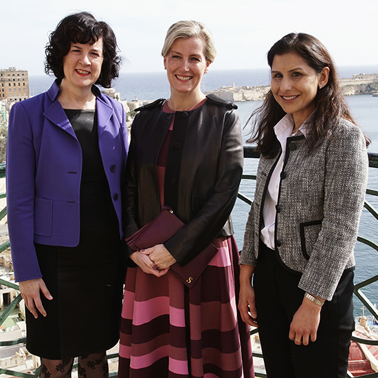 100 Women in Finance Celebrates International Women's Day in Malta with HRH The Countess of Wessex GCVO, Global Ambassador of 100WF's Next Generation Initiative and HE The President of Malta