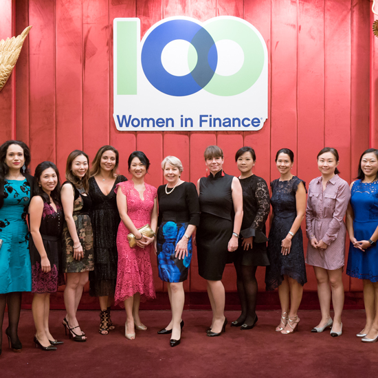 100 Women in Finance Raises HKD 3.7 million for the Changing Young Lives Foundation, at 2018 Hong Kong Gala