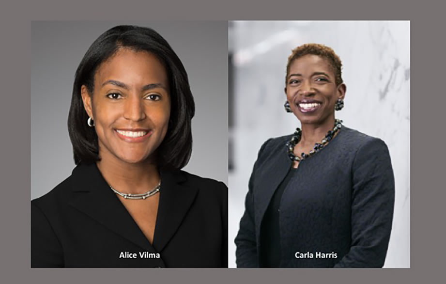 New York Virtual Gala to honor Carla Harris and Alice Vilma, co-heads of Morgan Stanley's Multicultural Innovation Lab, with 100WF's 2020 Effecting Change Award
