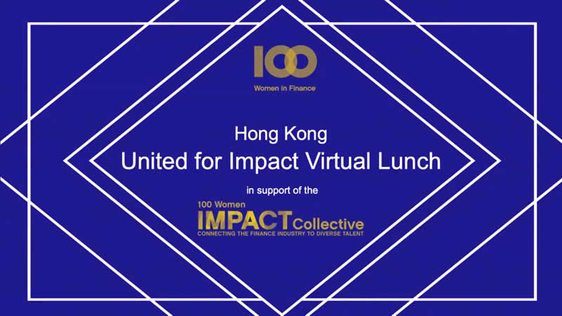 You are welcome to enjoy 100WF's Hong Kong Virtual Luncheon