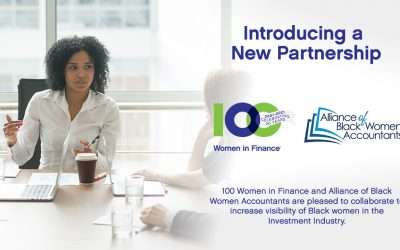 100 Women in Finance and Alliance of Black Women Accountants Collaborate to Increase the Visibility of Black Women in the Investment Industry